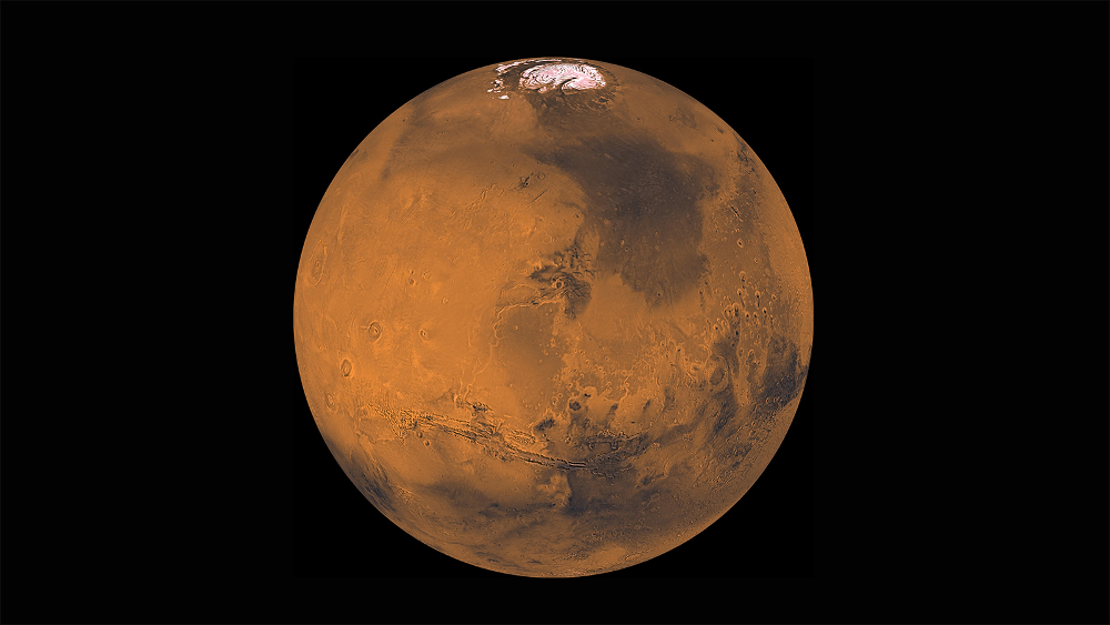 Image of Mars from the Viking Orbiter (1998)