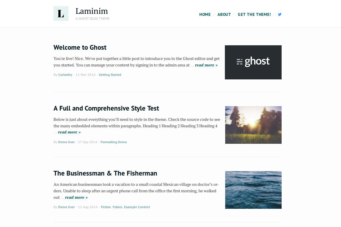 Laminim Screenshot