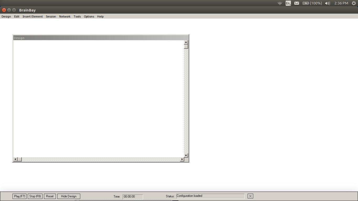 BrainBay on Linux: Blank Design