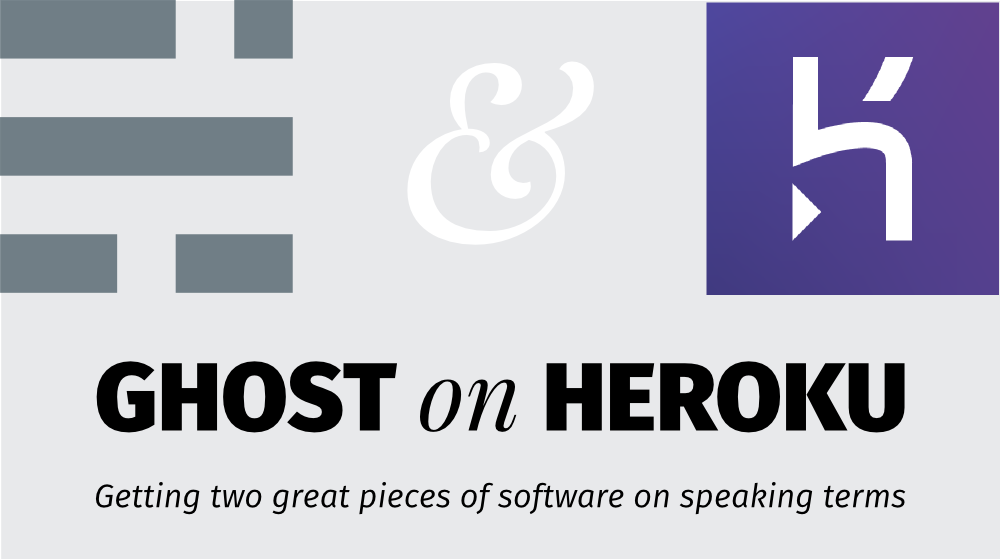Ghost on Heroku